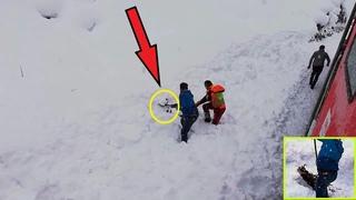 Машинист поезда заметил в снегу какое то СУЩЕСТВО! То, что произошло дальше – невероятно!