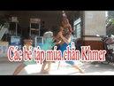 Nghệ Thuật Múa chằn Khmer Trà Cú của các diễn viên nhí Võ Kiến Văn Vkv