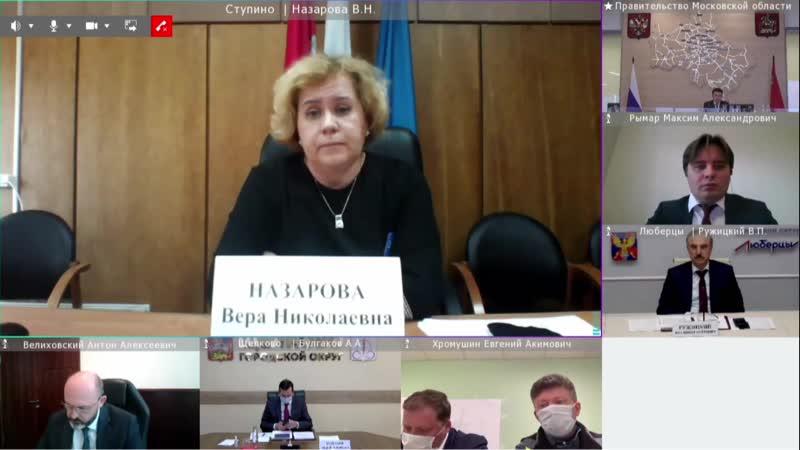 Губернатор vs Вера Назарова