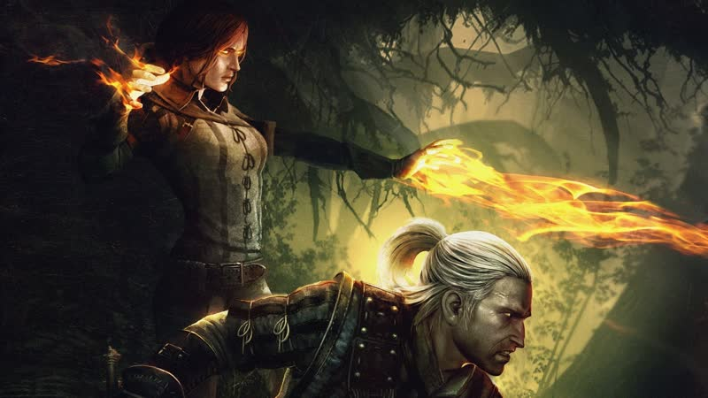 The Witcher 2 Assassins of Kings Путь Йорвета в поисках магии и Трисс