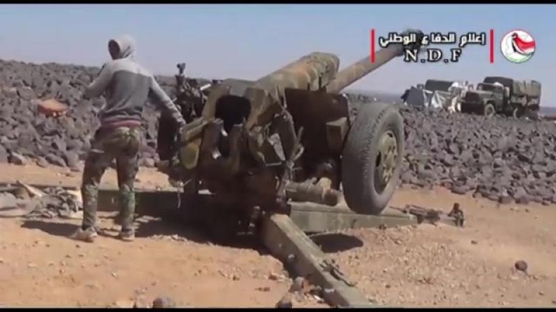 Подразделения армии и Национальной обороны продвигаются в аль Джаруф ас Сахрия на оси Тулюль ас Сафа